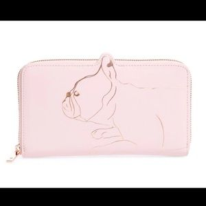 Ted Baker Bags - SOLD Ted Baker French bulldog wallet. NWT.